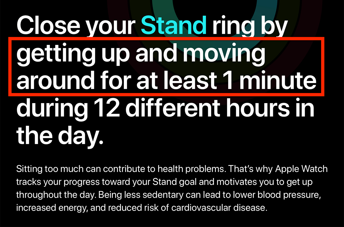 Apple: Close Your Stand Ring